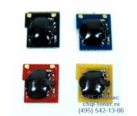 Чип желтого картриджа HP Color LJ CP3505 / 3600 / 3800