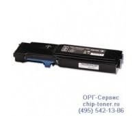 Картридж голубой Xerox WorkCentre 6605 ,совместимый