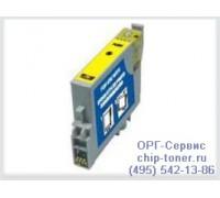 Картридж желтый Epson Stylus Photo R200 / R300 / RX500 ,совместимый