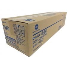 Девелопер голубой DV-512C Konica-Minolta bizhub C224/C284/C364/C454/C554 (A2XN0KD),оригинальный