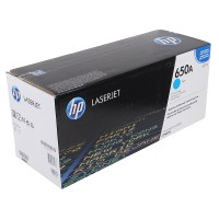 Картридж лазерный HP Color LaserJet Enterprise CP5520 / CP5525 / M750 голубой (HP 650A) ,оригинальный