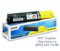 Картридж желтый Epson AcuLaser C1100 / CX11N ,оригинальный