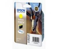 Картридж желтый Epson T0924 ,оригинальный