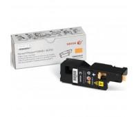 Картридж 106R01633 желтый  для Xerox Phaser 6000 / 6010,   WC 6015 оригинальный