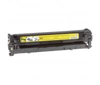Картридж желтый HP Color LaserJet CP1215 / CP1515 / CP1518 / CM1312 совместимый