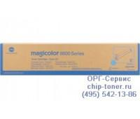 Картридж Konica Minolta A0D7453 Magicolor 8650DN голубой,  Оригинальный
