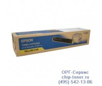 Картридж желтый для Epson AcuLaser C9100 оригинальный