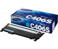 Картридж голубой для Samsung CLP-360 / 365,  CLX-3300 / 3305 оригинальный