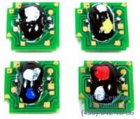Чип желтого картриджа HP CLJ CP4025 / CP4525